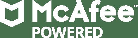McAfee Powered logo